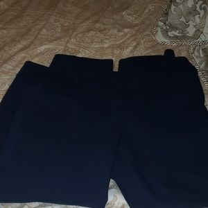 Pants - Loft sz 14 navy ankle pants